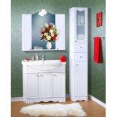 Комплект мебели для ванной Бриклаер Лючия 90